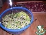 Салат с китайской капустой и лапшой рамэн