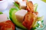 """Салат-закуска под соусом """"Суши-бар"""""""