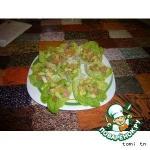 Закуска из авокадо с семгой