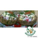 Сырные корзиночки с салатиком
