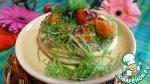 Закусочка с помидорами черри и пикантным соусом