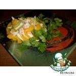 Салат из сельдерея с персиками