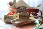 Террин из фуа-гра с белыми грибами и брусничным соусом +маринованная свекла с брусникой