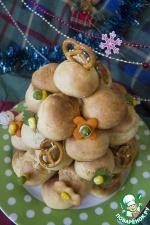 Новогодний закусочный крокембуш
