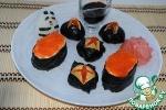 Дзакуро-дзуси и гункан суши
