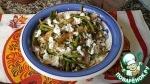 Рис с брынзой и овощами