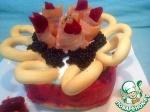 "Торт закусочный с лососем "" Осенние краски"""