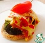 Бутерброды со спаржей и брокколи