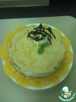 Блинный торт с апельсиновым ликером (Grand marnier)