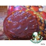 Торт творожный печеный