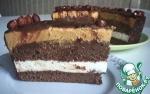 Тортик шоколадно-карамельный 😋