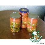 Кабачки, жаренные в томатном пюре, на зиму