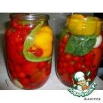 Перец, фаршированый  помидорами черри