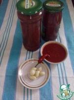 Кетчуп домашний со сливами