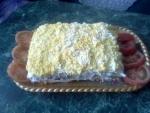 Салат Торт Наполеон из коржей с курицей