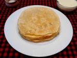 Казахский шелпек лепешки