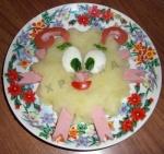 Детское картофельное пюре Смешарик