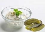 Классический домашний соус тартар с солеными огурцами