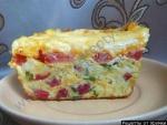 Кабачковый пирог с колбасой и кабачками рецепт с фото