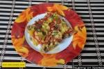 Овощная запеканка из кабачков с фаршем сыром и помидорами рецепт с фото