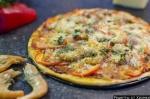 Домашняя пицца с креветками и сыром рецепт приготовления с фото