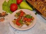 Запеканка из тертых кабачков с фаршем в духовке