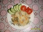 Рис с мясом и овощами в мультиварке