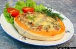 Смаженка с колбасой - белорусская пицца