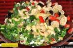 Паста макароны с кабачками
