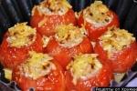 Фаршированные помидоры мясо лук рис рецепт с пошаговыми фото