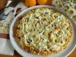 Пицца без дрожжей на молоке