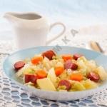 Айнтопф немецкий суп с колбасками