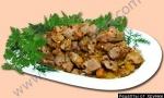 Кулинарный рецепт Поджарка из оленины. Поронкяристюс с фото