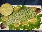 Рецепт Рождественская форель с черносливом, запеченная в духовке по-македонски с фото