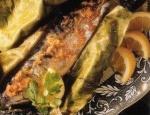 Рецепт Рыба, запеченная в фольге с имбирным маслом с фото