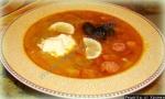 Классическая  солянка сборная мясная рецепт супа