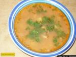 Вкусный рыбный суп из кильки в томатном соусе