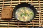 Суп Солянка рыбная из морской капусты с яйцом рецепт с фото