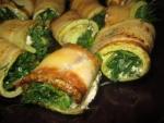 Рулетики из кабачков с сыром и чесноком рецепт с фото