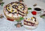 Торт сметанный с вишней