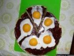 Кулинарный рецепт Торт Яичница с фото