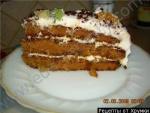 Кулинарный рецепт Торт Татьяна с фото