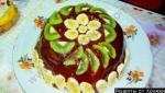 Торт из пряников, бананов, сметаны без выпечки