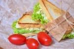 Бутерброды для пикника сэндвич с яичным салатом