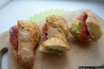Бутерброд с авокадо и красной рыбой праздничные рецепт приготовления
