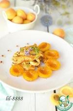 Куриное филе с лавандой и абрикосами