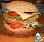 """Домашний гамбургер """"Биг мак"""""""