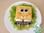 "Бутерброд для детей ""Губка Боб"""