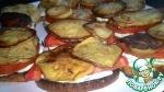 "Бутерброды с баклажанами ""Грузинский Вариант"""