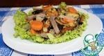 Салат из баклажанов с говядиной